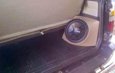 Modifikasi Speaker Aktif mobil