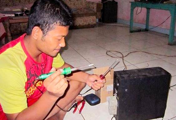 Memperbaiki Speaker yang Berdengung